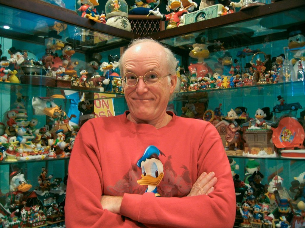 Don Rosa, comic book author known for his stories about Donald Duck and other Disney characters (Source)