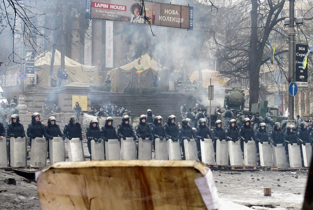 Euromaidan in Kiev. (Source)