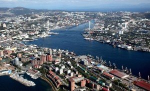 Vladivostok Harbor russia