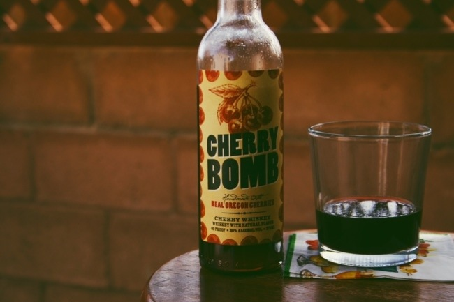 Eastside Distilling Cherry Bomb Whiskey. This cherry-infused selection from Eastside Distilling Inc. (OTCQB:ESDI) was made from real Oregon cherries and aged whiskey.
