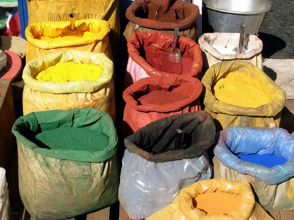 Pigment sacks