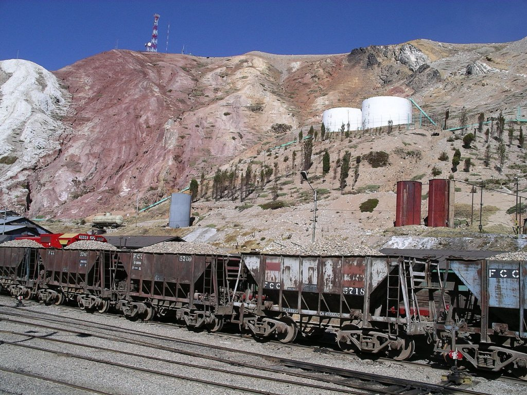 La Oroya railway station
