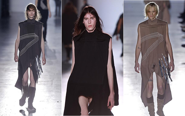 Runway models nude fashion