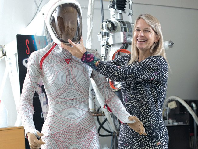 Though NASA has not officially tapped the BioSuit, Newman said that her team has been exploring other possible uses of the specialized suit and the memory alloys to help mobilize young patients with muscle or brain damage.