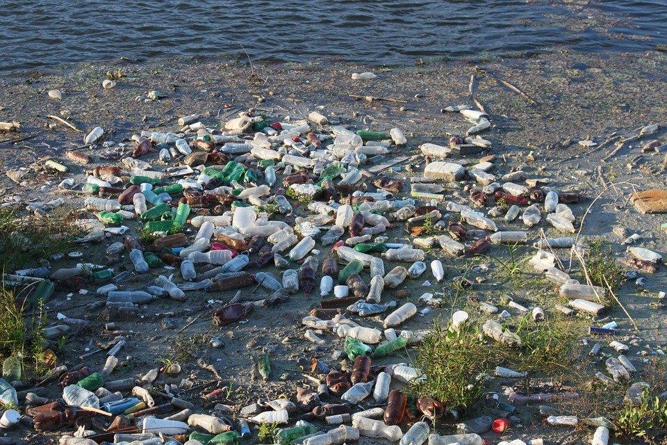 seaside garbage