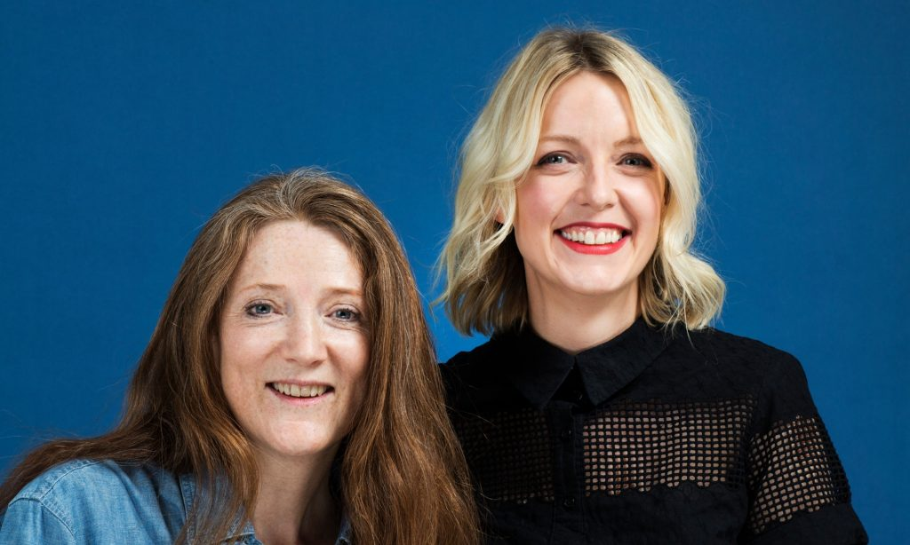 Sam Baker and Lauren Laverne, creators of The Pool, a website for women, written by women