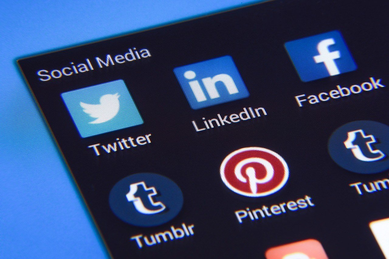 LinkedIn, Twitter, Facebook and YouTube are social media channels you can use to grow your business.
