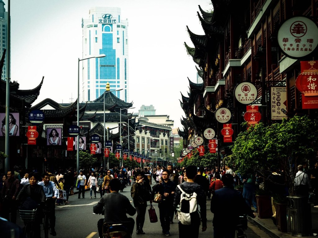 Shanghai street Asia