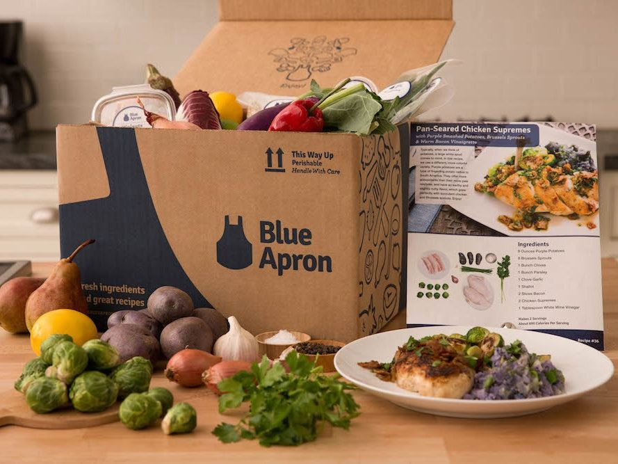 Blue Apron rallies after analyst coverage starts