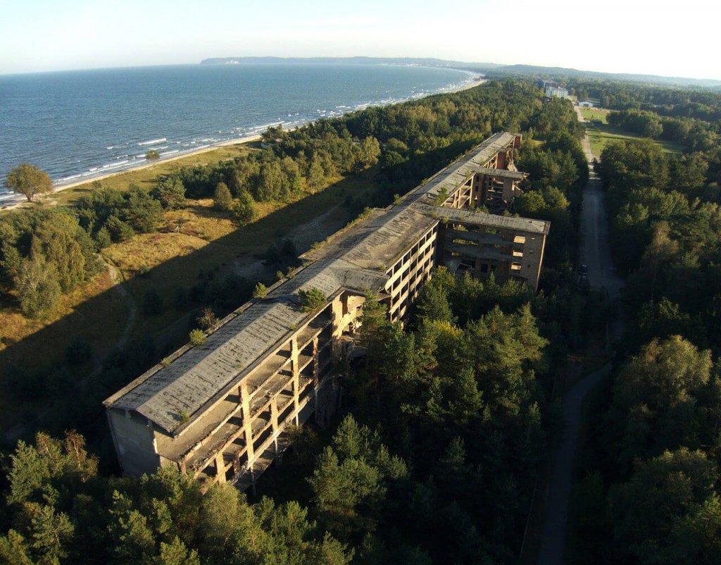 Closer look of Prora