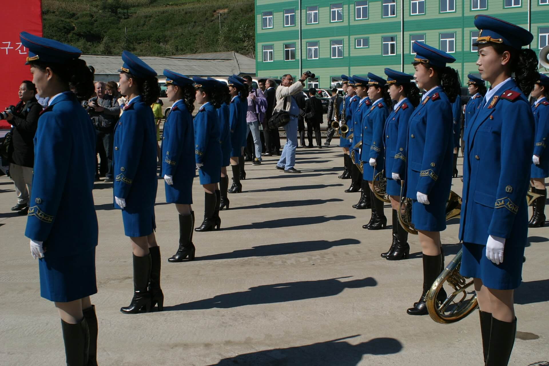 Parade at North Korea
