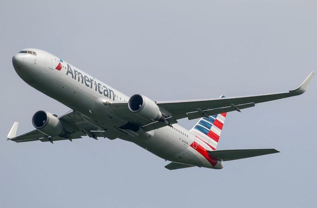 American Airlines airplane Incredible shrinking airline seat