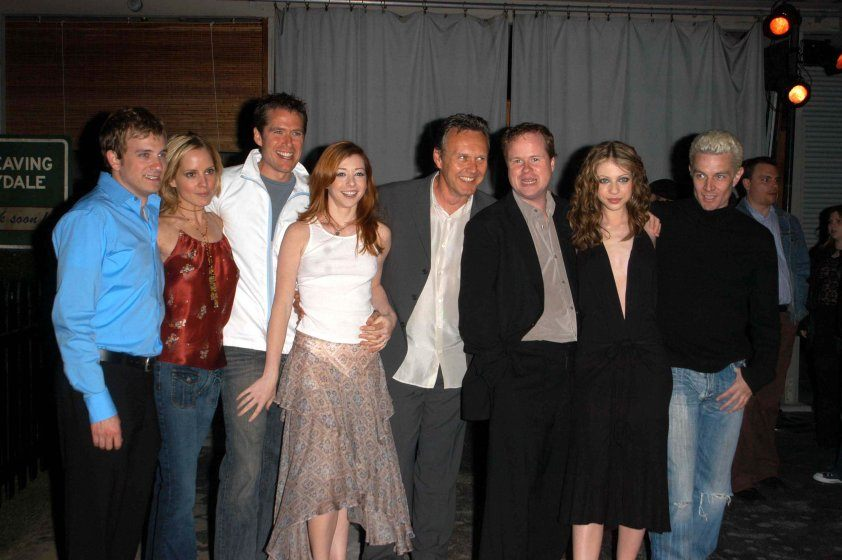 Buffy the Vampire Slayer wrap party