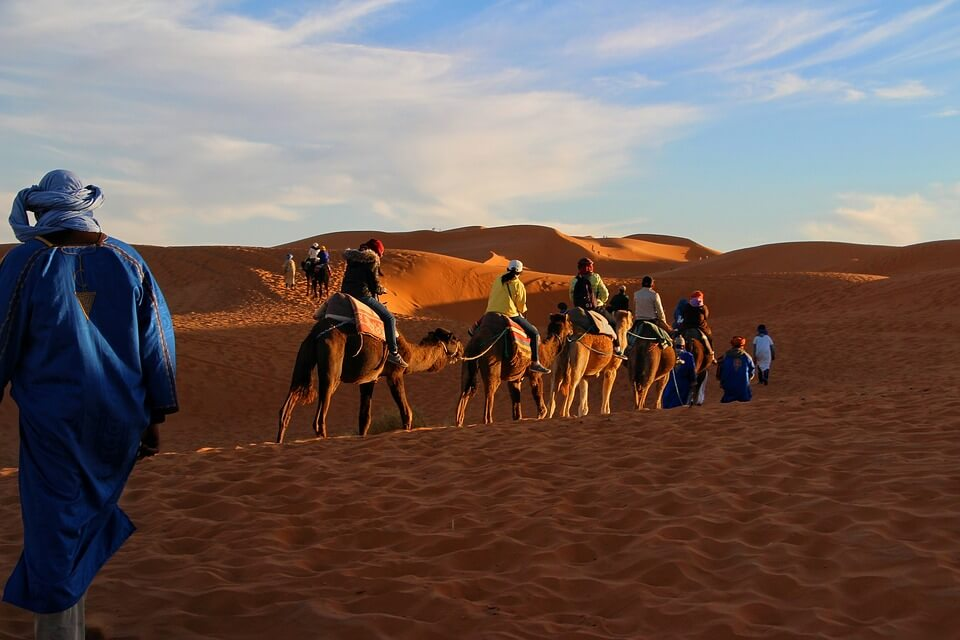 Desert trip. Morocco best destinations