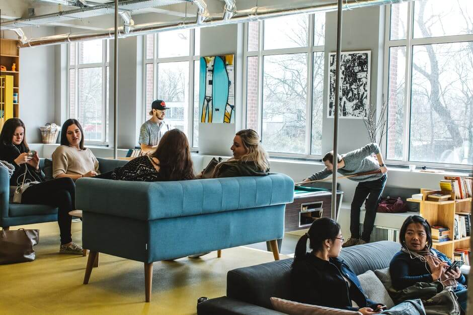 Cool office best places to work in Australia