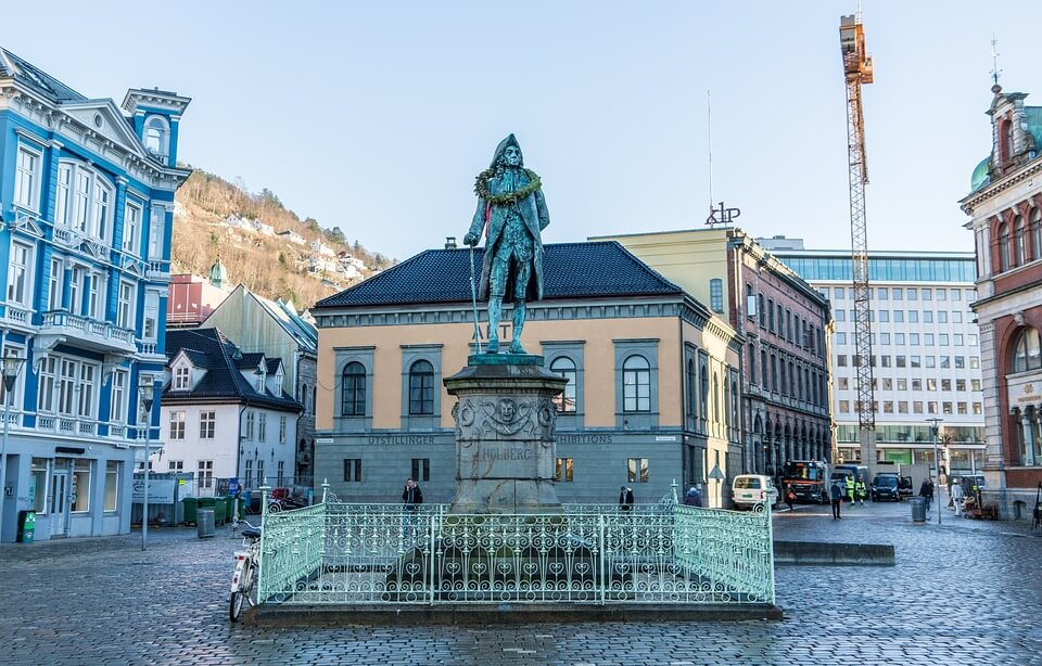 Statue in Norway.
