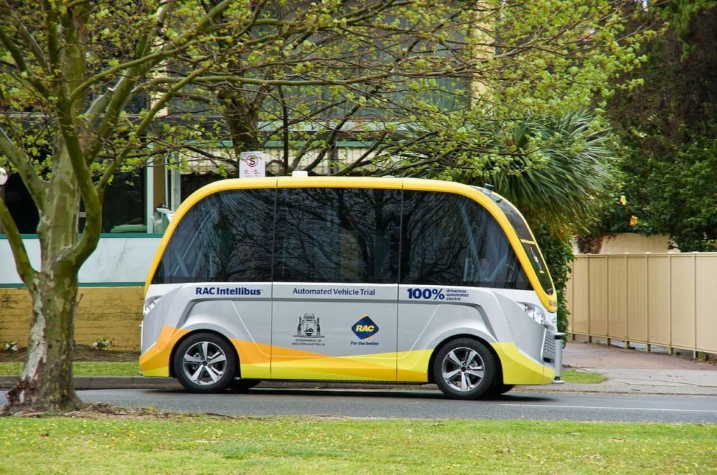 Automated bus autonomous vehicles