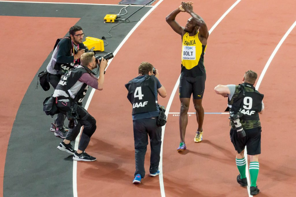 Emotional farewell for Usain Bolt