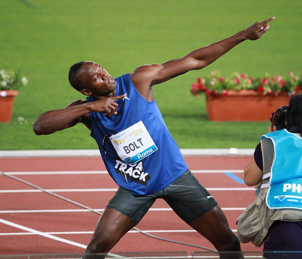 Usain Bolt bows out in agony