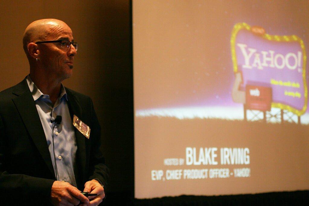 Blake Irving.