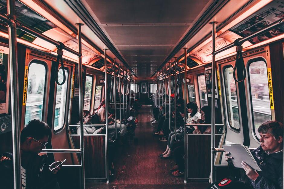 Public commuting.