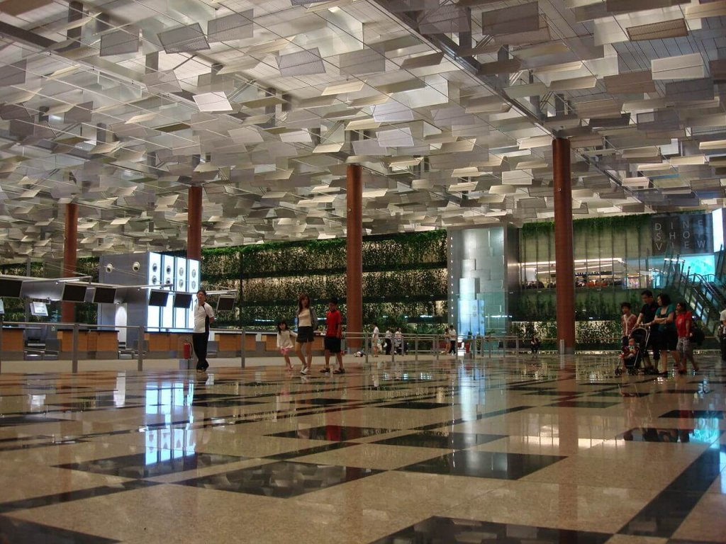 Changi International Airport Lascar Terminal 3