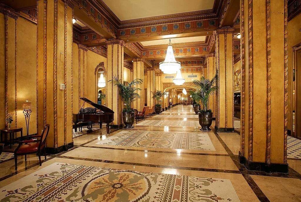 Waldorf-Astoria Hotel New Orleans interior best luxury hotels