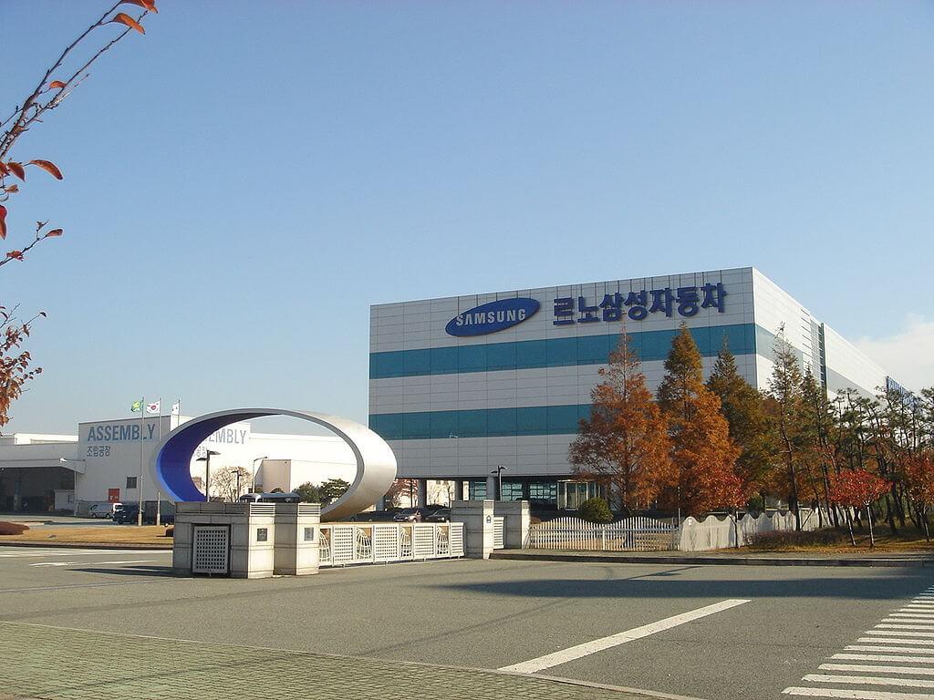Samsung factory