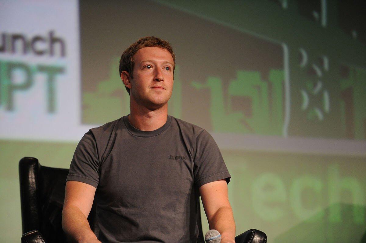 Tech CEO Mark Zuckerberg