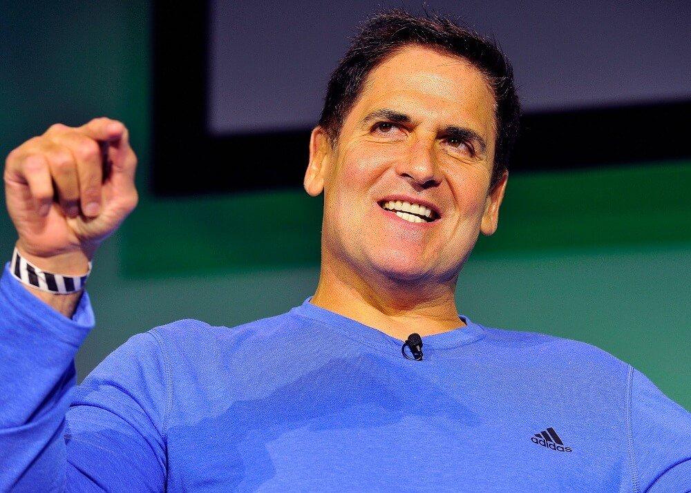 How does wealthy entrepreneur Mark Cuban invest?