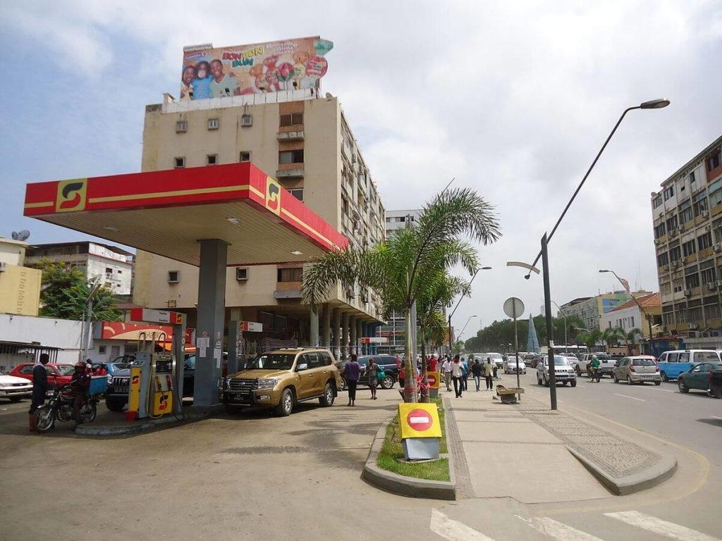 Songangol oil company.