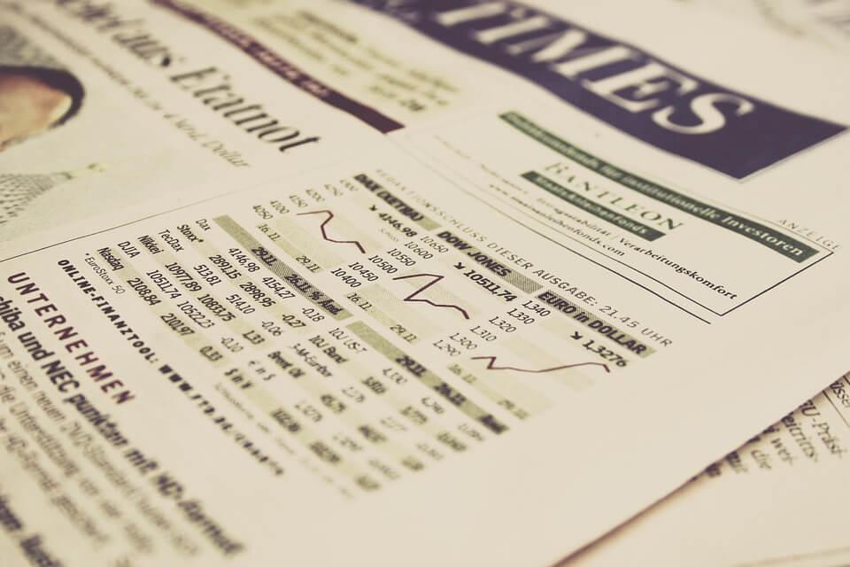 Index fund chart.