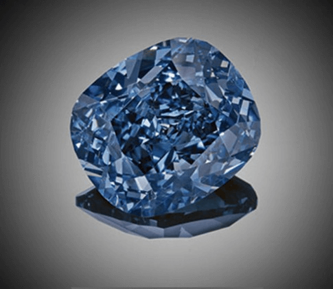 expensive diamonds: Blue Moon diamond