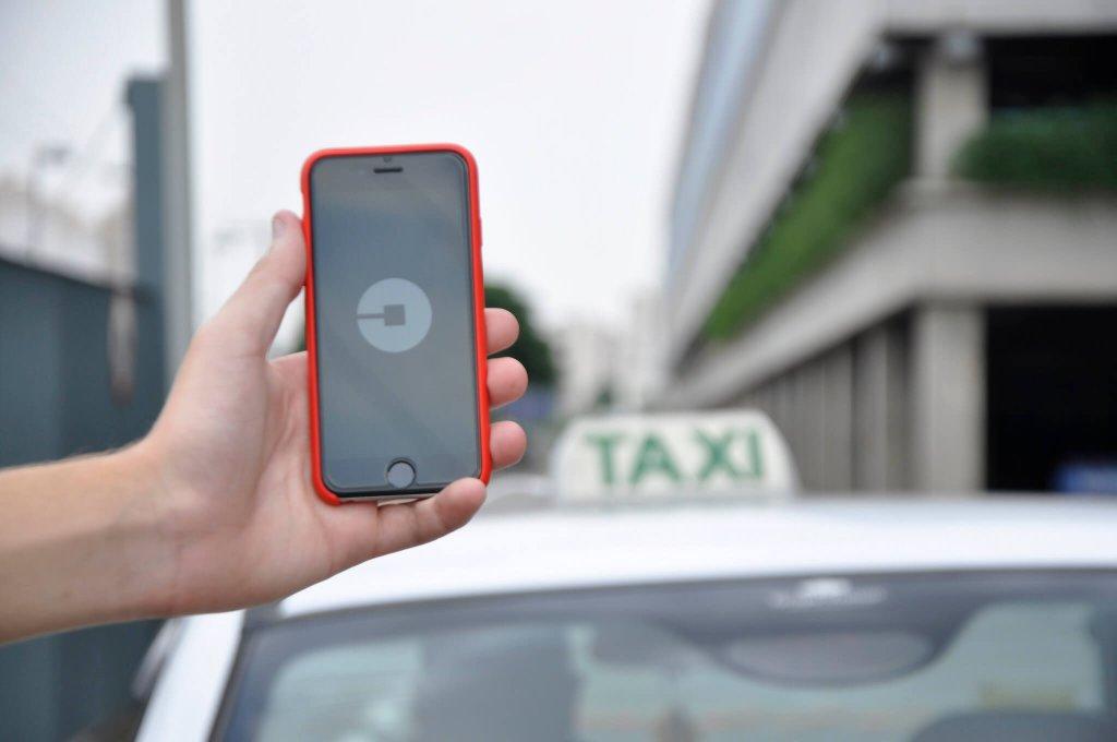 Uber app Uber's Dara Khosrowshahi