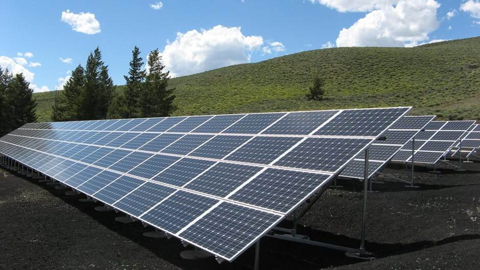 Solar panels greenest US states