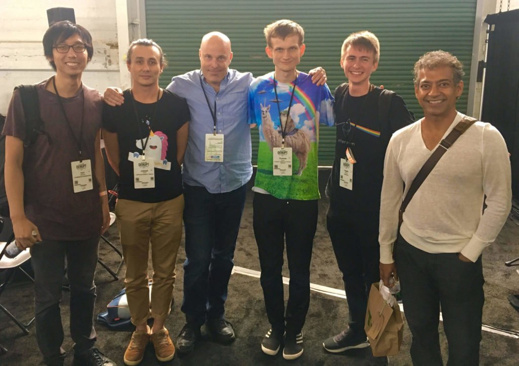 Vitalik Buterin and some friends.