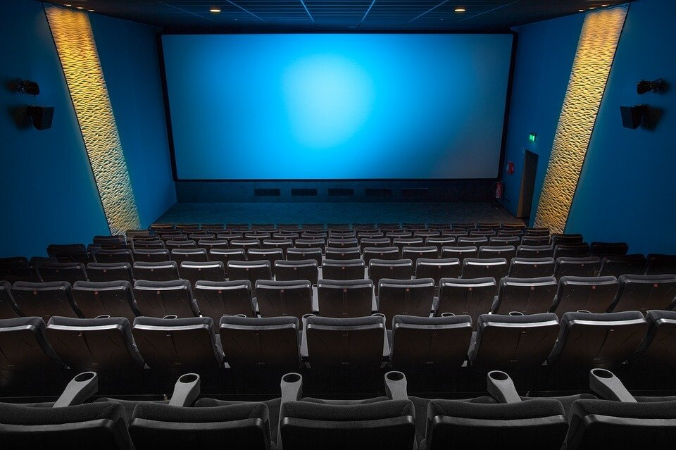 MoviePass: Empty cinema.