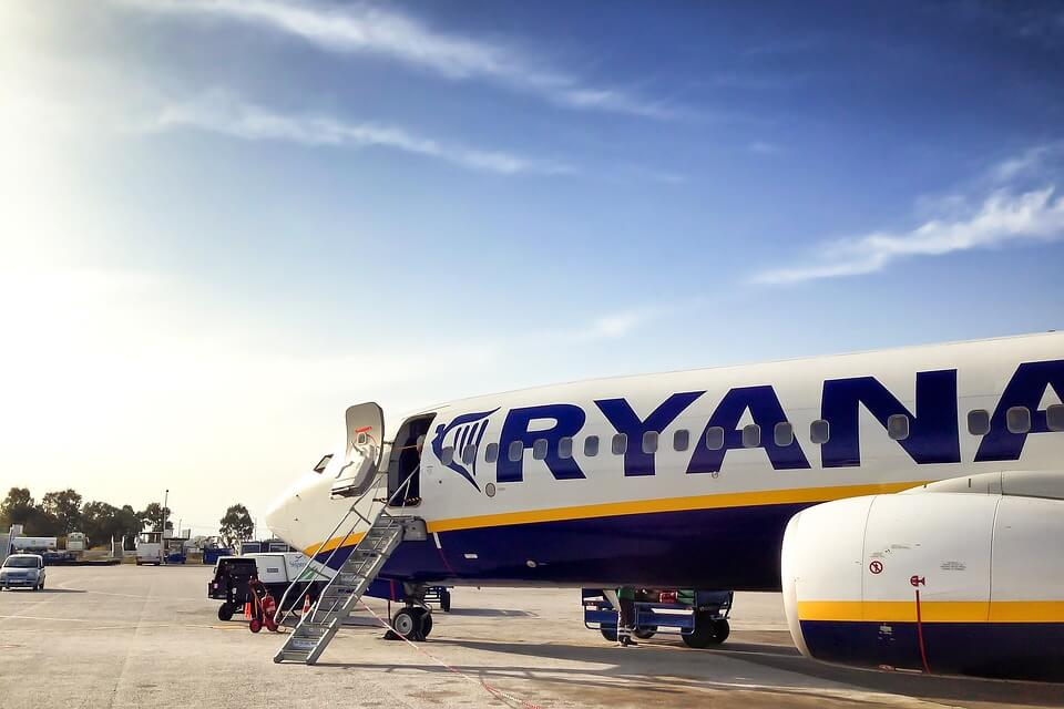 Ryanair canceled flights