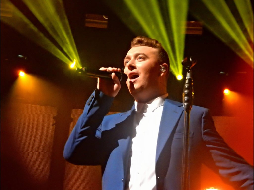 Sam Smith at Itunes festival
