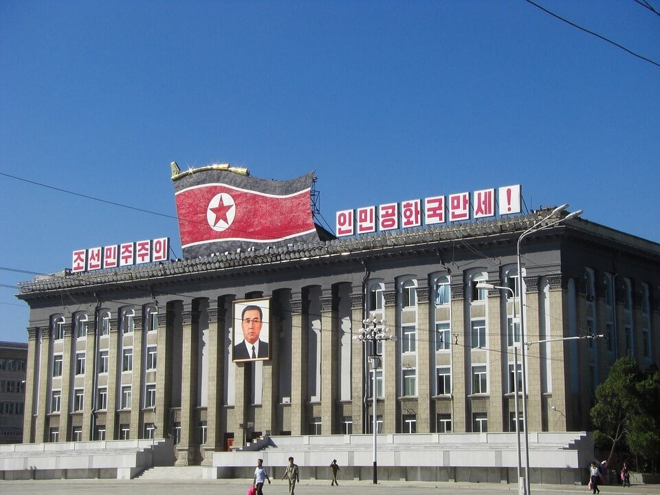 North Korea square North Korea sanctions