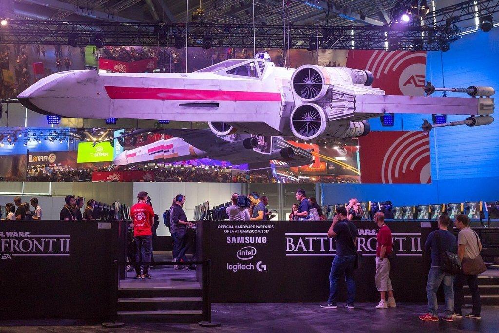 Star Wars Battlefront event.