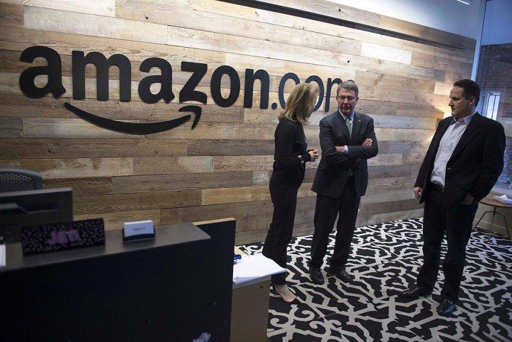Amazon headquarters.