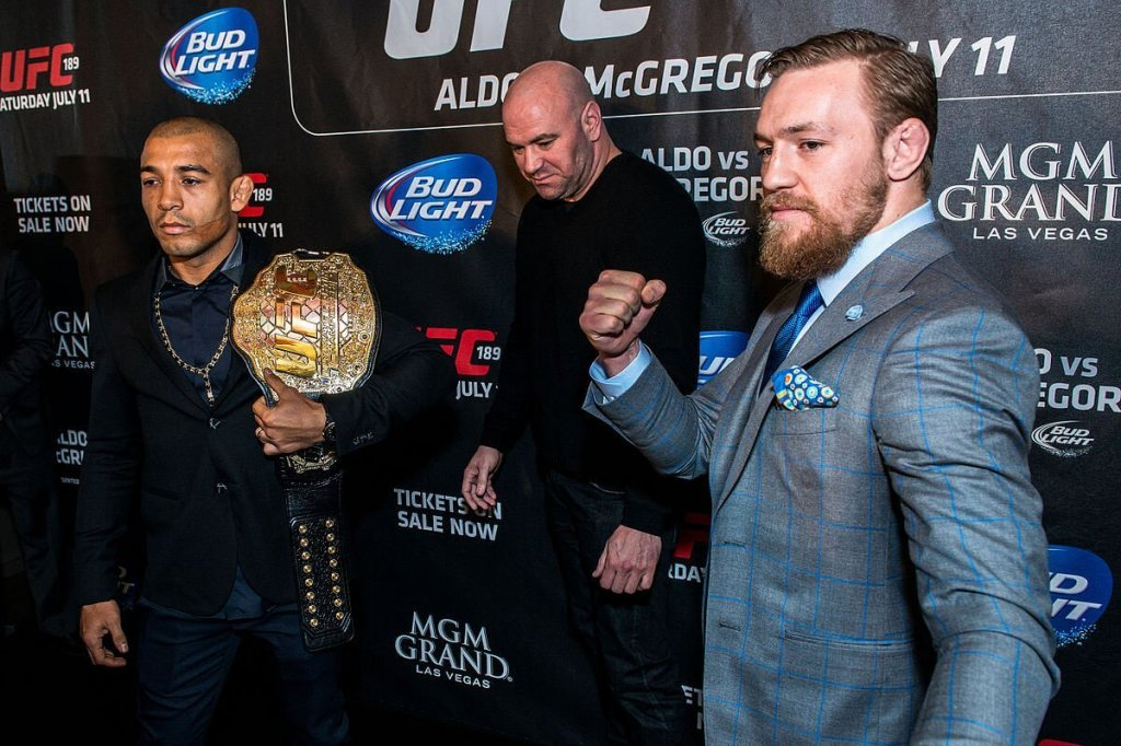 UFC promo.