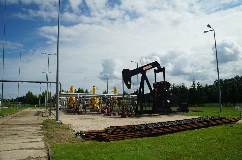 Crude oil pump.
