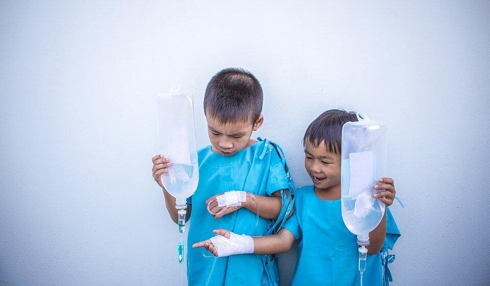 Children with dextrose - 2017 Flu Season