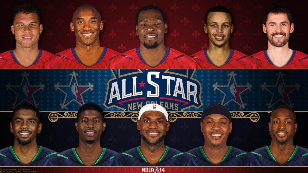 NBA All-Star players.