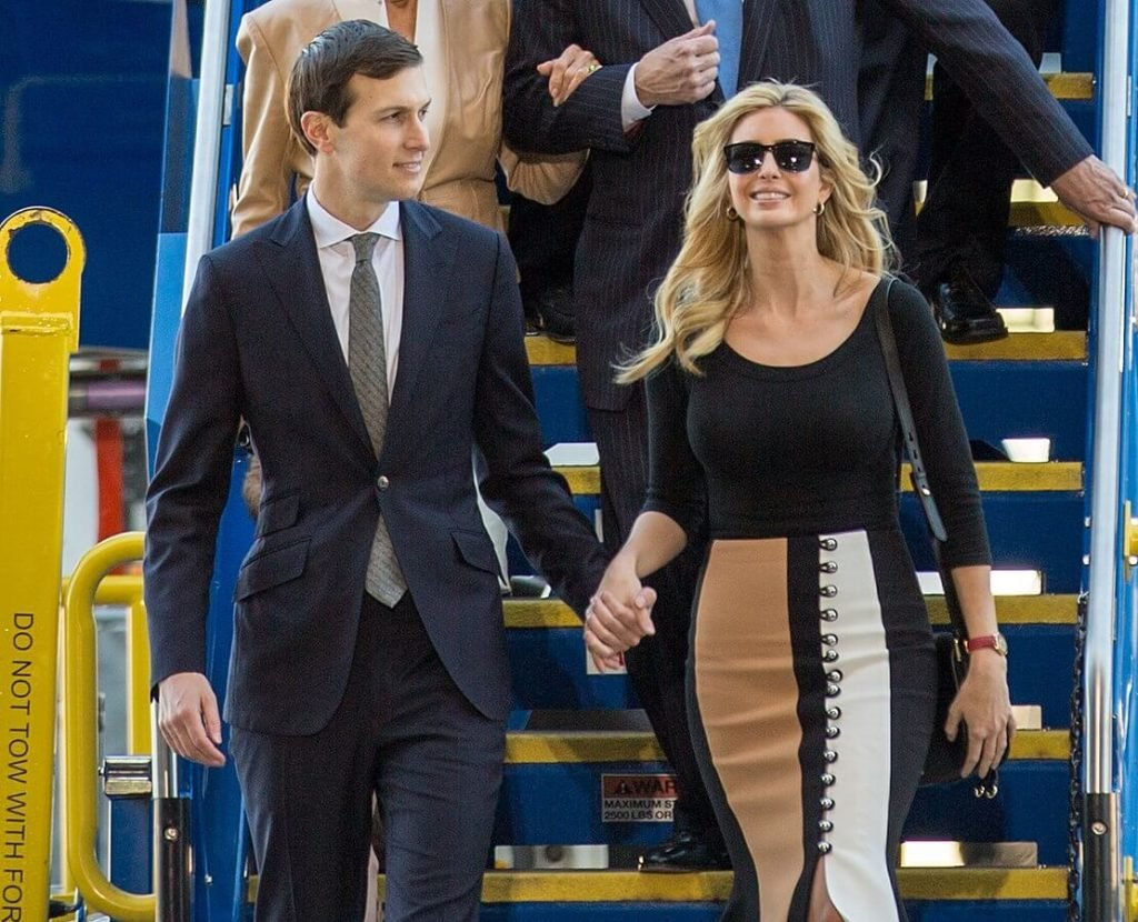 Ivanka Trump and Jared Kushner.