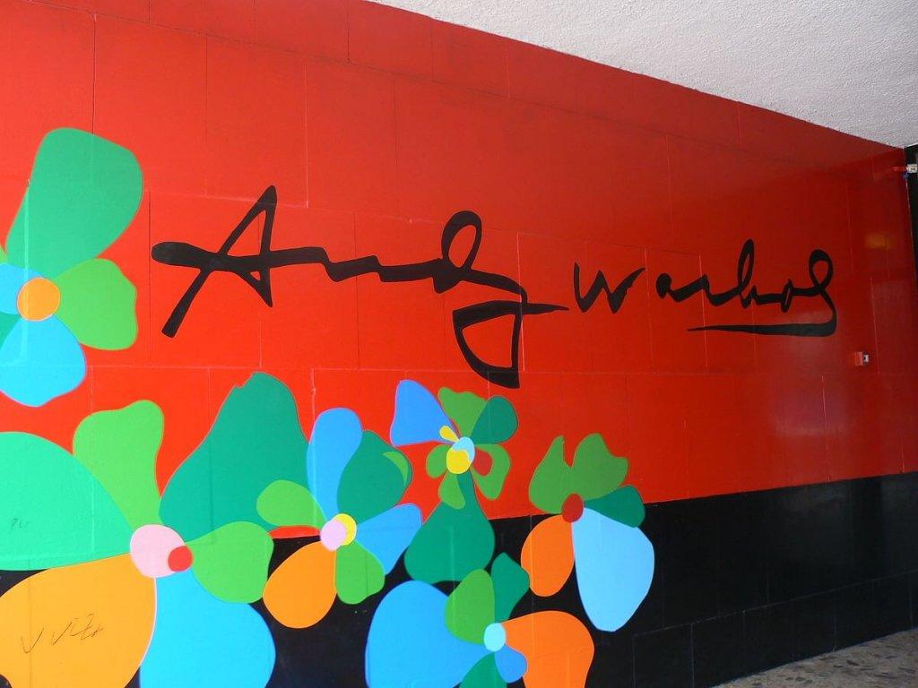 Andy Warhol tribute.
