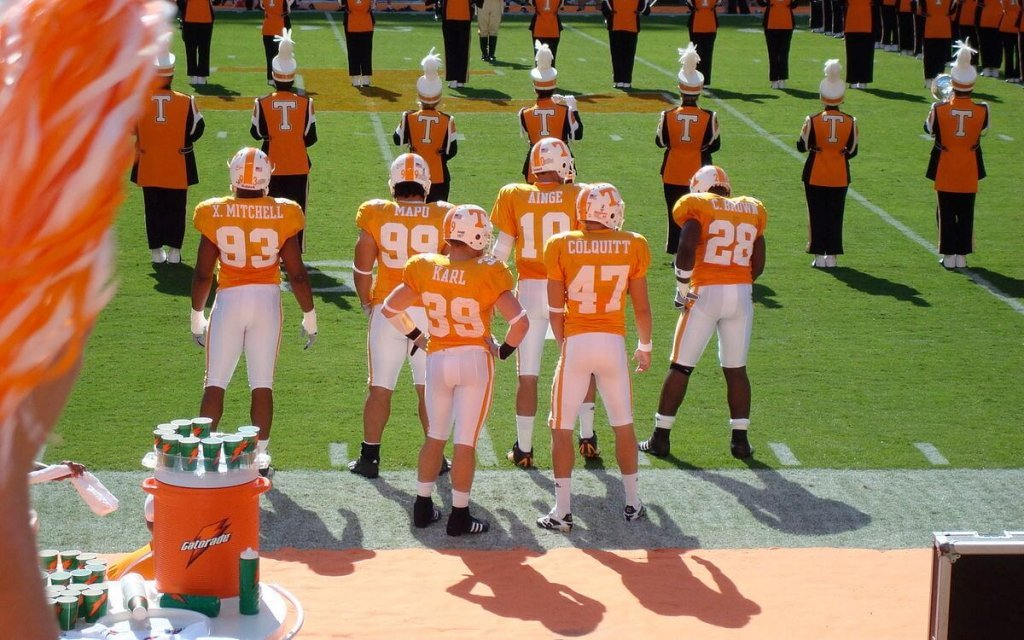 Tennessee Volunteers football team.