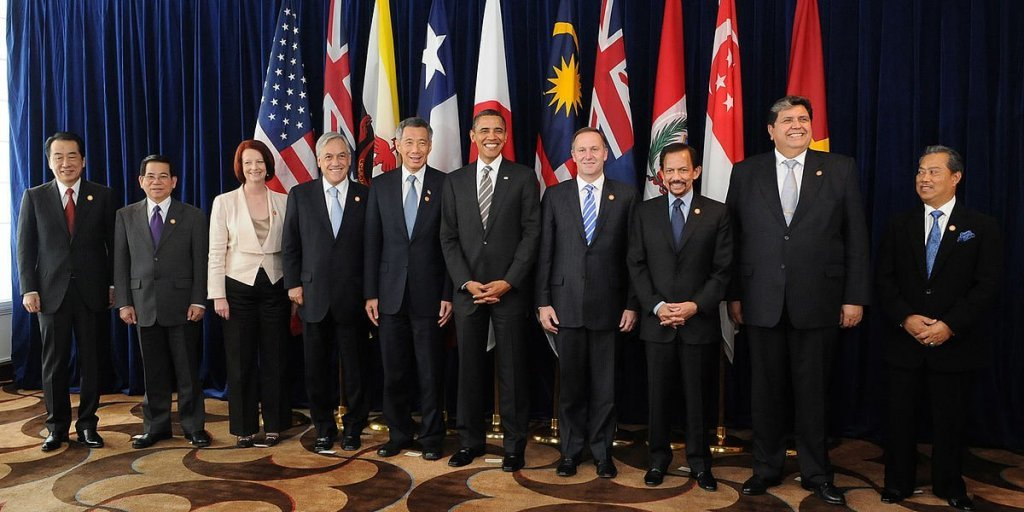 Leaders of Trans-Pacific Partnership